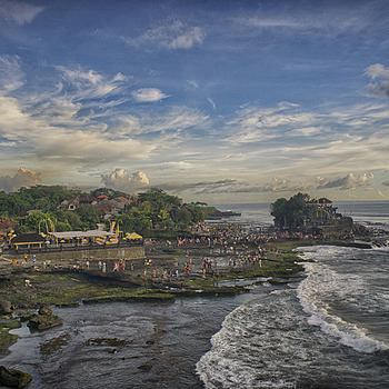 Tanah Lot Gathering | ZEISS ZM DISTAGON F2.8 15MM <br> Click image for more details, Click <b>X</b> on top right of image to close